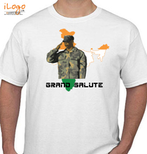 Indian Army Grand-salute T-Shirt