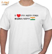Indian Army army-man T-Shirt