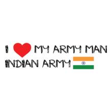 Indian Army army-man T-Shirt