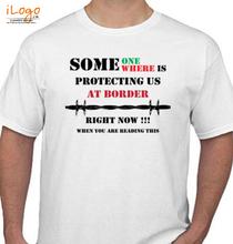 Indian Army AT-BORDER T-Shirt