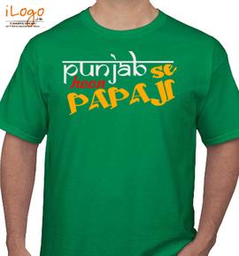 punjabse hoon papaji - T-Shirt