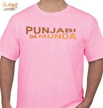 Punjabi PUNJABI-A-MUNDA T-Shirt