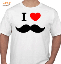 Punjabi I-LOVE-MOUSTACHE T-Shirt