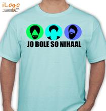 Punjabi JO-BOLE-SO-NIHAAL T-Shirt