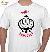 Punjabi MR.-SINGH T-Shirt