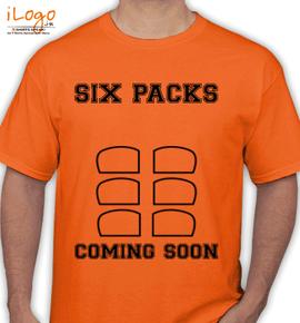 SIX-PACKS-COMING-SOON - T-Shirt
