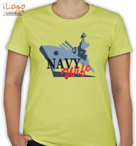 NAVY WIFE - T-Shirt [F]