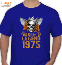 Legends are Born in 1975 T-Shirts