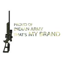 Army my-brand-white T-Shirt