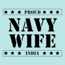 Navy Wife PROUD-NAVY-WIFE T-Shirt