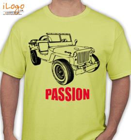 jeep-passion - T-Shirt