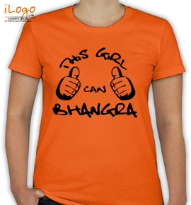 this-girl-can-bhangra - T-Shirt [F]