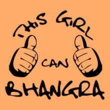 Punjabi this-girl-can-bhangra T-Shirt