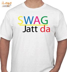 swag-jatt-da-colorfull - T-Shirt