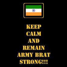 Keep-Calm-Army-Brat T-Shirt
