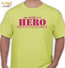 Army Brat FAUJIBRAT T-Shirt