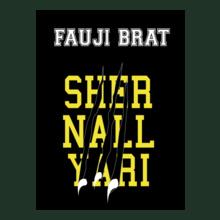 FAUJI-BRAT-LION-NAIL T-Shirt