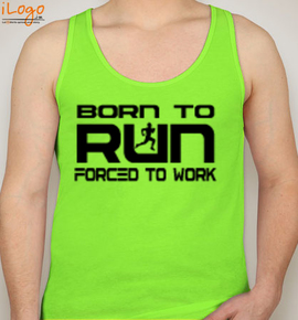 BORN TO RUN - Blakto Sports Vest