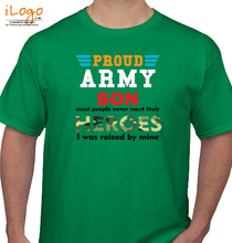 Indian Army proud-son T-Shirt