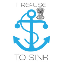Indian Navy sink T-Shirt