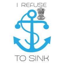 Indian Navy sink T-Shirt