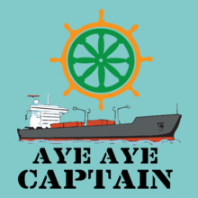 Indian Navy aye-aye T-Shirt