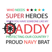 Indian Navy PROUD-BRAT T-Shirt