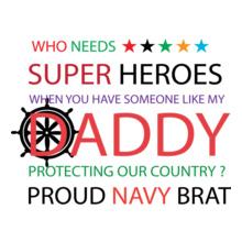 Indian Navy PROUD-BRAT T-Shirt