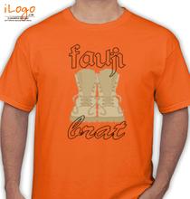 Army Brat fauji-bratshoes-with-dot T-Shirt