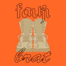 fauji-bratshoes-with-dot T-Shirt