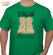 Army Brat fauji-brat-with-destroy-font T-Shirt
