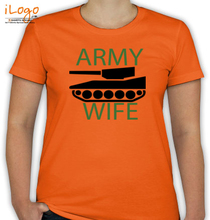 Army Wife ARMY-WIFE-GREEN T-Shirt