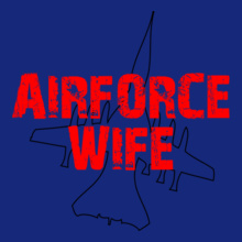 AIRFORCE-WIFW-IN-RED T-Shirt