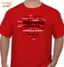 Army Brat words-for-solier T-Shirt