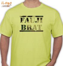 Army Brat FAUJI-BRAT-IN-TEXTURE T-Shirt