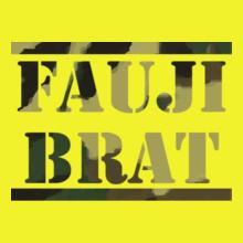 FAUJI-BRAT-IN-TEXTURE T-Shirt