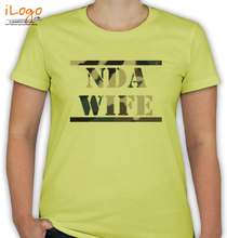 Army Brat NDA-WIFE-WITH-TEXTURE T-Shirt