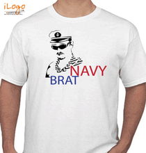 Naval Brat NAVY-BRAT-WITH-FIGURE T-Shirt