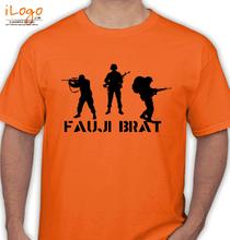 Army Brat FAUJI-BRAT-SOLIER T-Shirt