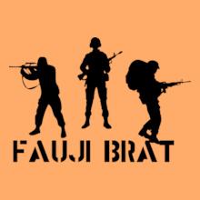 FAUJI-BRAT-SOLIER T-Shirt