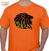 Army Brat LION-FAUJI-BRAT T-Shirt
