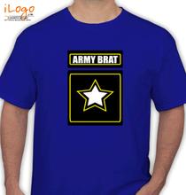 Army Brat ARMY-BRAT-WITH-STAR T-Shirt