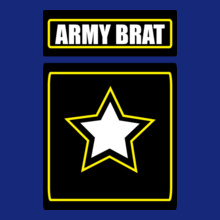 Army Brat ARMY-BRAT-WITH-STAR T-Shirt