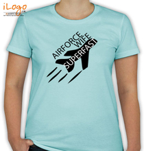 Air Force Wife AIR-FORCE-WIFE-SUPERFAST T-Shirt