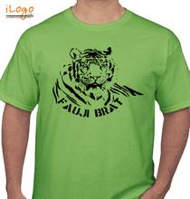 Army Brat FAUJI-BRAT-TIGER T-Shirt