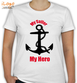 my sailor my hero - T-Shirt [F]