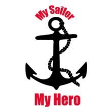 Navy Wife my-sailor-my-hero T-Shirt