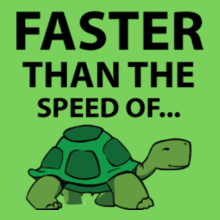 faster-than-d-speed-of T-Shirt