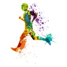colorful-run T-Shirt