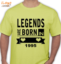 Legends are Born in 1995 T-Shirts